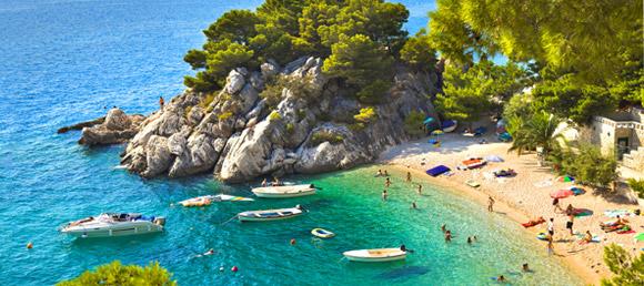 Chorwacja - plaże dla spragnionych słońca